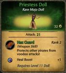 Priestess Doll Card