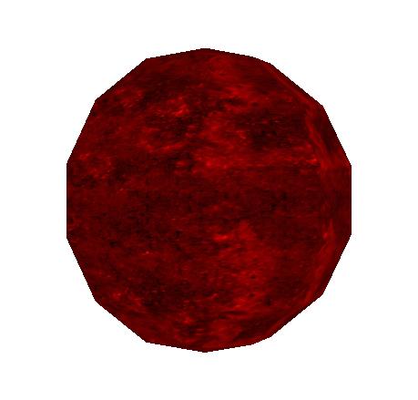 Red Ornament Grenade Icon