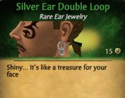 SilverDoubleEarLoop