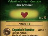 Valentine's Heart Grenade