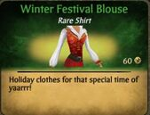 Winter Festival Blouse