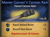 Master Gunner's Cannon Ram