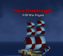 Navy Dreadnought