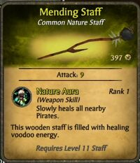 Mending Staff