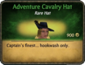 Adventure Cavalry Hat Card