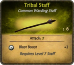 Tribal Staff Card