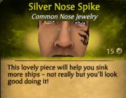 SilverNoseSpike