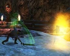 Emerald Curse green shadow