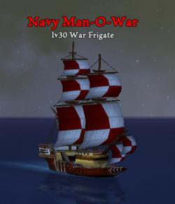 Navy Man O War clearer