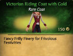 Victorian Riding CoatF