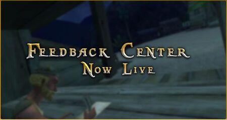 Feedback Center