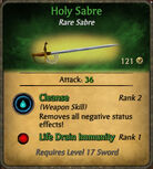 Holy Sabre 2010-12-08