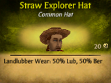 M Straw Explorer Hat
