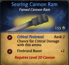 Searing ram clearer