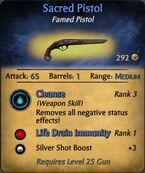 Sacred pistol