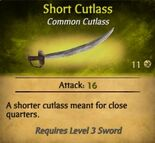 Short Cutlass