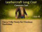 Leathercraft Long Coat