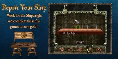 Loadingscreen minigame shipRepair land