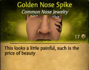 GoldenNoseSpike
