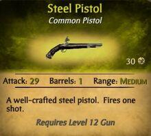 Steel Pistol