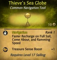 Thieve's Sea Globe