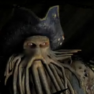 Davy Jones from the <i>POTCO</i> trailer.