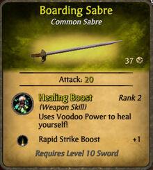 Boarding Sabre 2010-11-23