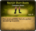 Recruit Short Boots Card