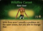 Wildfire Corset