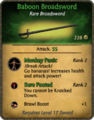 Baboon Broadsword Card.png