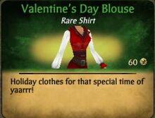 Valentine's Day Blouse