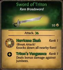 Tritoncard
