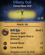 Villainy doll - clearer