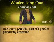 Woolen Long Coat