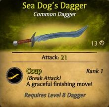 Sea Dog's Dagger