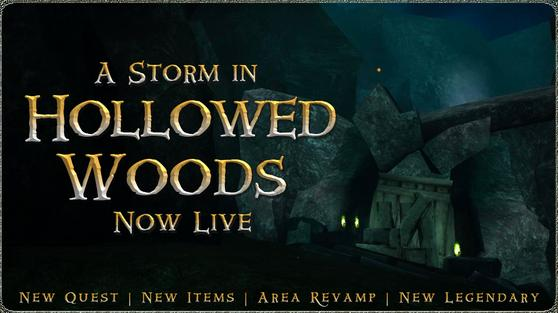 Storms in Hollowed Woods Announcement