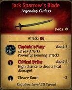 Jacks sword