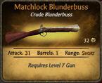 Matchlock Blunderbuss 2010-11-25