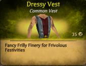 Dressy Vest
