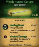 Witch Hunter Cutlass
