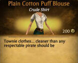 F Cotton Puff Blouse variations