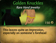 Golden Knuckles