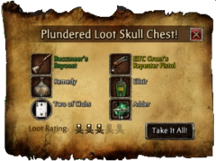 Loot Skull Chest Contents
