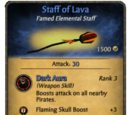 Staff of Lava