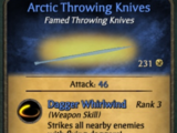 Arctic Throwing Knives