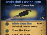Makeshift Cannon Ram