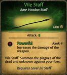 Vile-staff