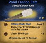 Wool Cannon Ram