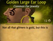 GoldenLargeEarLoop