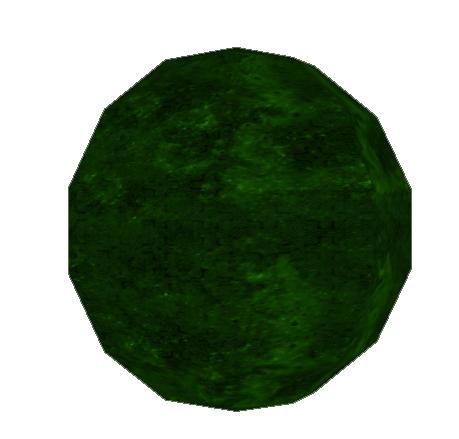 Green Ornament Grenade Icon